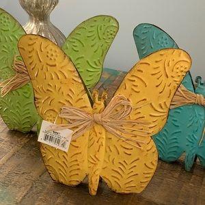 NWT Metal Butterflies